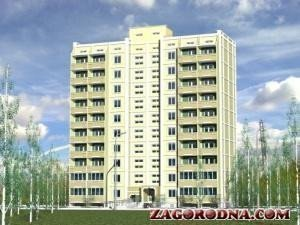 Buy an apartment in a new building New building on Kushnareva 5