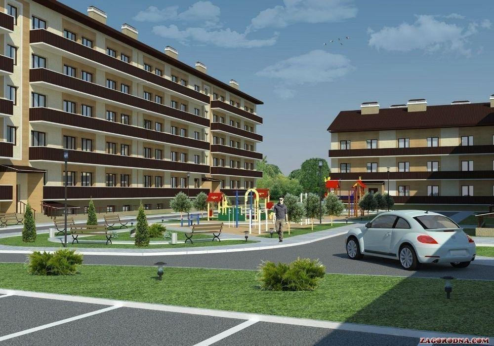 У Харківському районі активно ведеться будівництво приміського житла