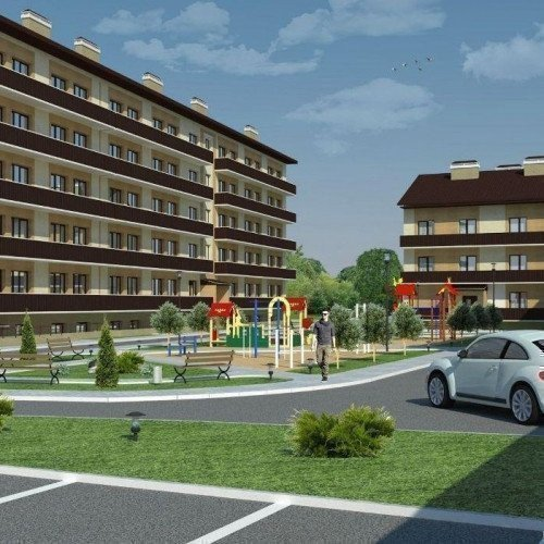 Photo: «Lastochkino gnezdo» residential comlex