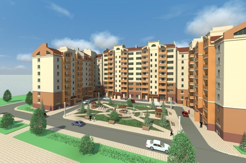 Buy an apartment in a new building Zatishna Oselya