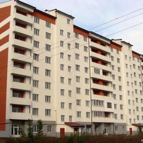 Photo: New building on Mazepa