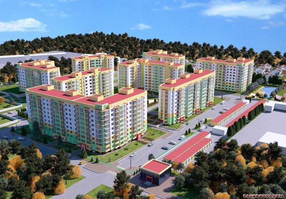 Buy an apartment in a new building «NOVA BUDOVA-2» residential comlex
