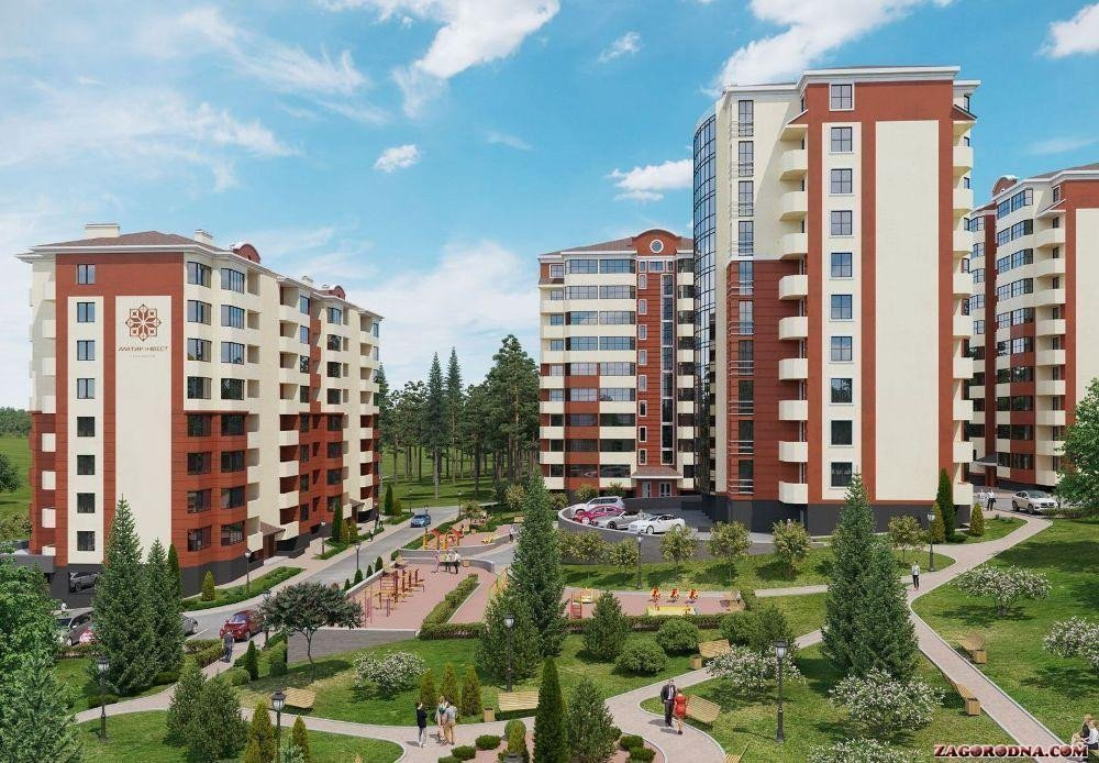 Buy an apartment in a new building «Obereg» RC
