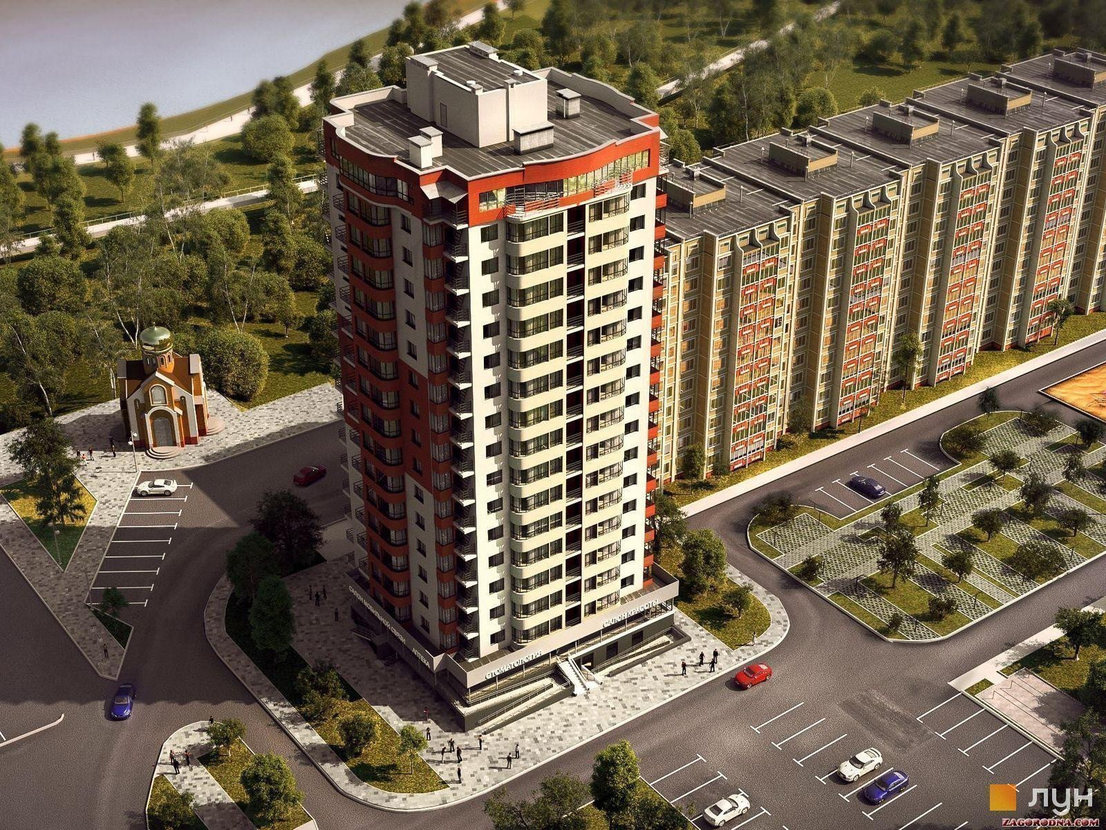 Buy an apartment in a new building PesochinSky residential comlex