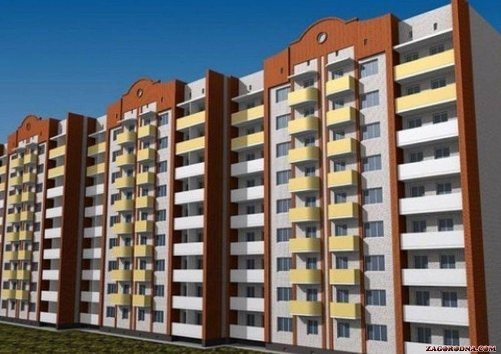 Buy an apartment in a new building New building on Pobedy