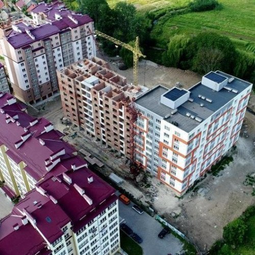 Photo: New building on Potochnaya