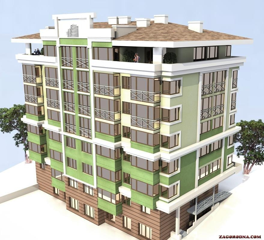 Buy an apartment in a new building № 636