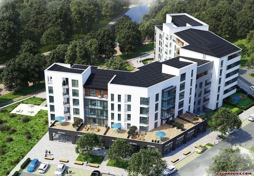 У Закарпатті активно будують апартаменти