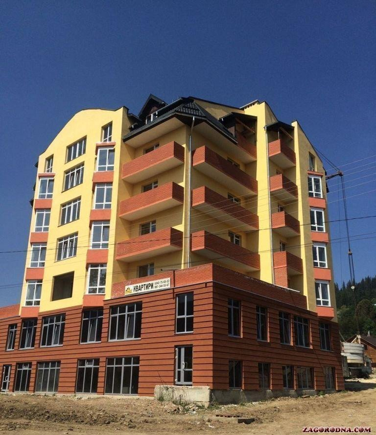 Buy an apartment in a new building New building in Verkhovyna