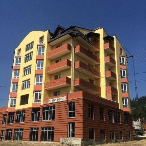 Photo: New building in Verkhovyna