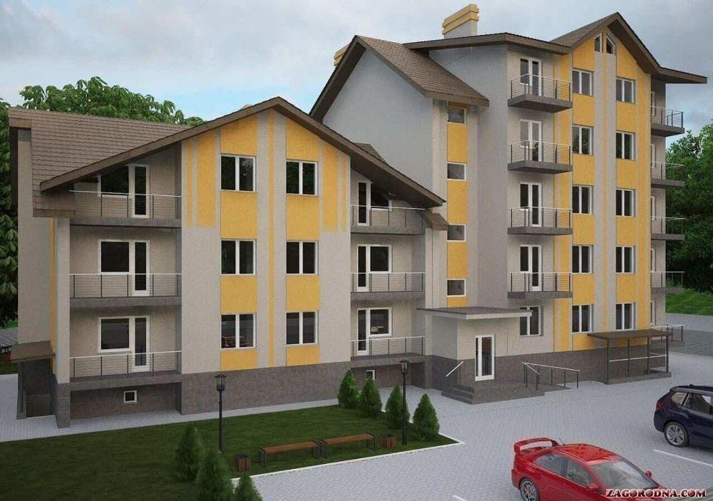Buy an apartment in a new building «European yard» residential comlex