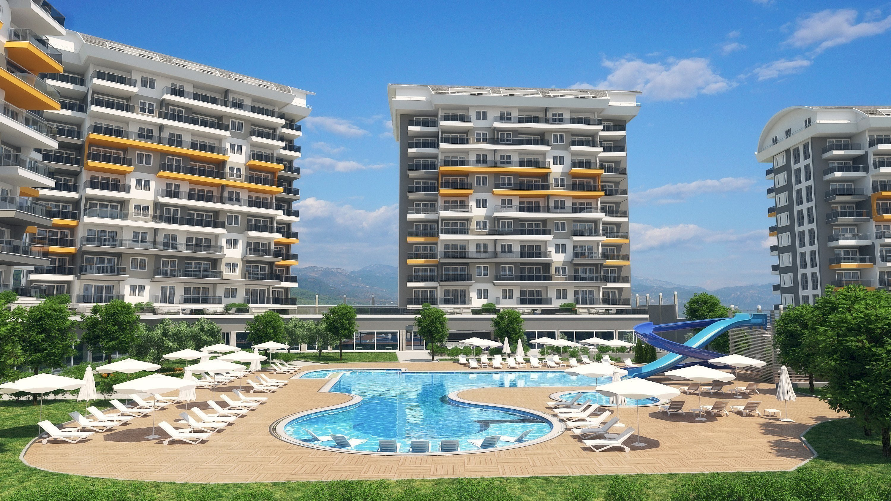 Sale property abroad Apartments in Avsallar