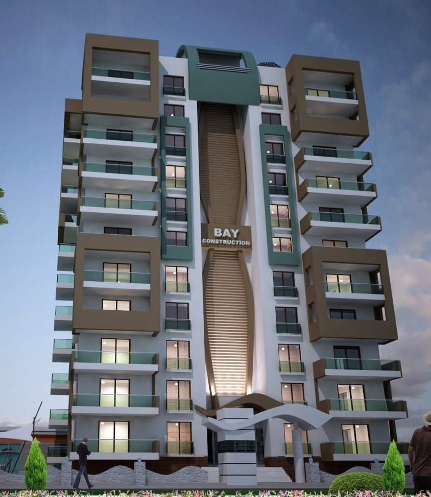Sale property abroad Apartments in a newly built complex, 300 meters from the sea