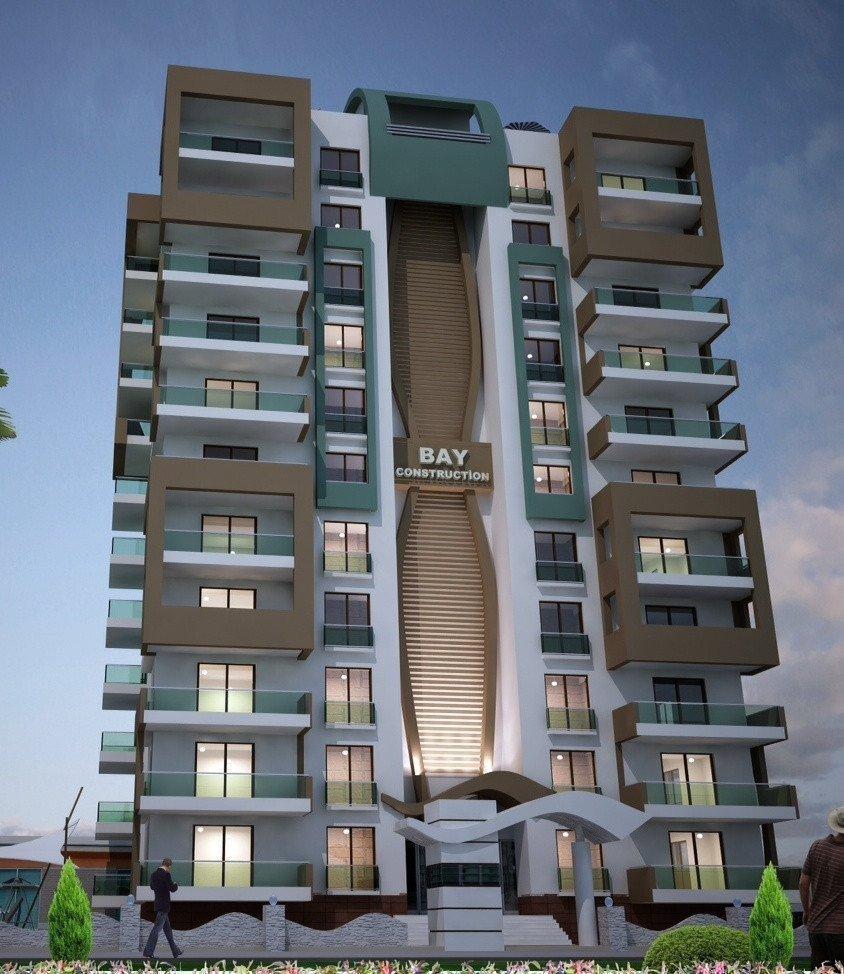 Продам недвижимость за рубежом Квартиры в строящемся комплексе в 300 м от моря