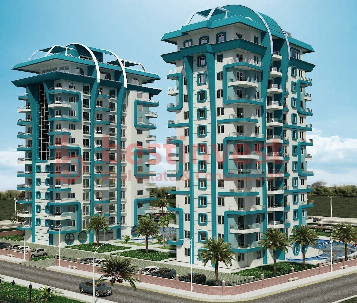 Sale property abroad Apartments in Angels Home in Alanya