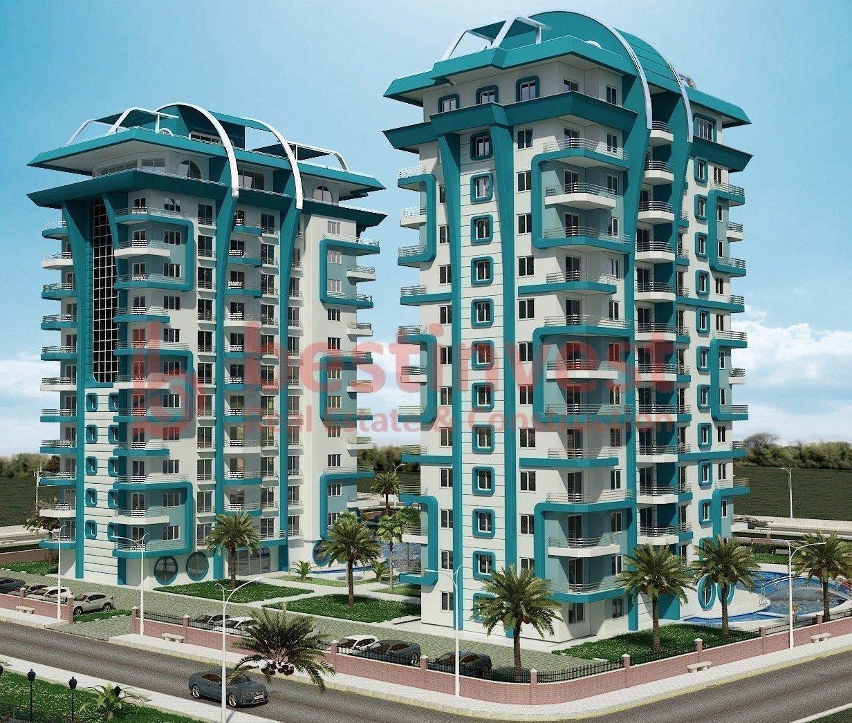 Продам недвижимость за рубежом Квартиры в комплексе Angels Home в Алании