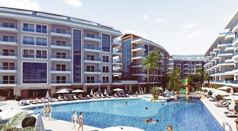 Sale property abroad New comfortable apartments in Kestel