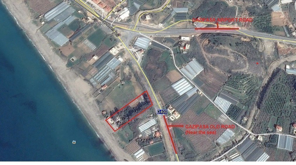 Sale property abroad Land for sale in Gazipasa