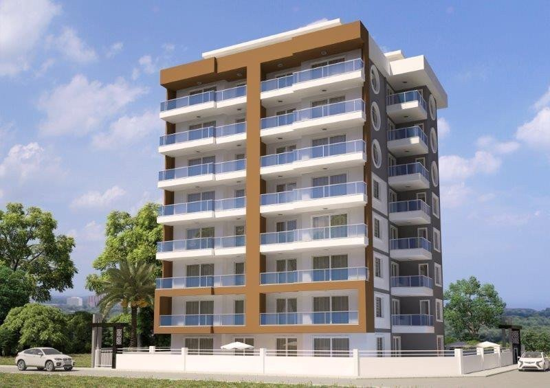 Sale property abroad Apartments only 250m from the sea in the center of Mahmutlar