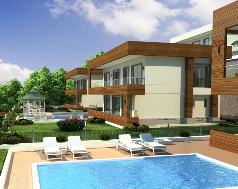 Sale property abroad Luxury villa by the sea in Alanya